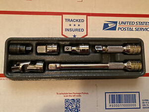New Snap On 3 8 Drive Adaptor Universal And Extension 6 Pc Set 206eau