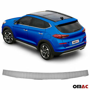 Rear Bumper Guard Trunk Sill Protector Brushed Fits Hyundai Tucson 2019 2021