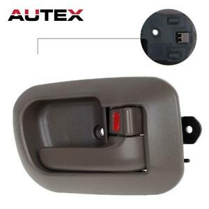 For Toyota Sienna 1998 2003 Brown Inside Front Right Pass Rh Side Door Handle