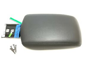 Ford Focus Center Armrest Console Cover Lid Black Leather 2012 2013 2014 Long