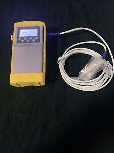 Nellcor N 65 Hand Held Pulse Oximeter With New Finger Sensor And Case