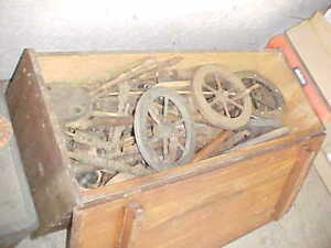 100 S Of Antique Spinning Wheel Parts For Restoration Projects Many Great Parts