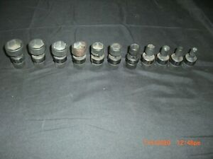 Matco Tools 3 8 Drive Sae Impact Swivel Socket Set Sbup126v missing 5 8