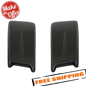 Westin 72 13011 Racing Accent Large Double Hood Scoops Unpainted