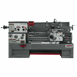Jet 321531 Gh 1440zx 14 X 40 Large Spindle Bore Metal Lathe With Collet Closer