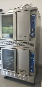 Imperial Double Stack Convection Oven Natural Gas Fantastic Working Condition