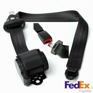 1x3 Point Seat Belt Lap Diagonal Belt Set Fit For Car Truck Suv Us Shipping