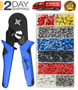 Wire Ferrules Wire Ends Terminals Crimping Tool Kit Sopoby Crimper Plier