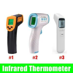 Infrared Thermometer Digital Led Forehead No touch Body Adult Temperature Gun