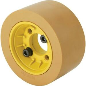 Grizzly G1759 Flange With Rubber Roller