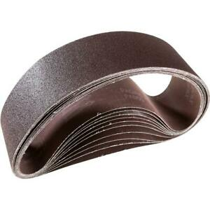 Grizzly T21479 4 X 36 A o Sanding Belt 60 Grit 10 Pk