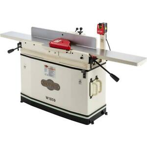 Shop Fox W1859 8 X 76 Parallelogram Jointer With Mobile Base