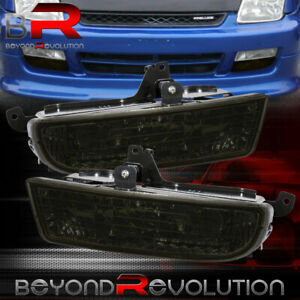 For 1997 2001 Honda Prelude Smoke Bumper Fog Lights Driving Lamps Replacement