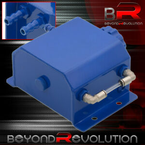 Universal Blue Radiator Coolant Over Flow Reservoir Recovery Can Tank 1 Liters