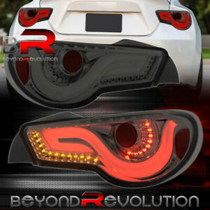 For 13 20 Scion Subaru Fr S 86 Brz Vip Led Brake Tail Lights Lamps Unit Smoke