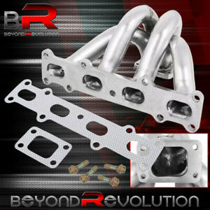 For Mazda Miata 1 8l Engine T25 T28 Racing Turbo Exhaust Manifold W Gaskets Set