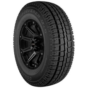 4 lt265 70r17 Cooper Discoverer M s 121 118q E 10 Ply Bsw Tires