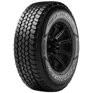 255 70r16 Goodyear Wrangler A t Adventure 111t Sl 4 Ply White Letter Tire
