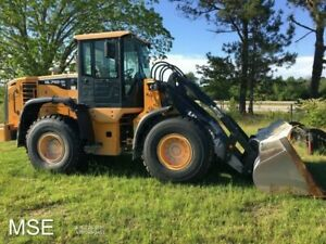 2015 Hyundai Hl740tm Cab Wheel Loader