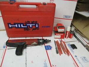 Hilti Powder Actuated Nail Stud Gun Dx36m Pre owned Works Accessories Included