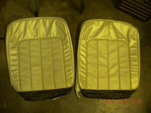 1970 Buick Skylark Bench Seat Covers Gs Deluxe Parchment 70 Gsx Coupe Conv