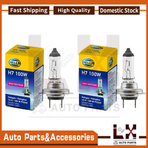 2 Pieces Hella H7 100w Healight Bulb H7 12v 100w Px26d T4 High Performance