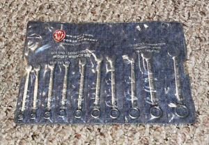 Wright Tools Wrench Set 10 Piece Box End open End 787w