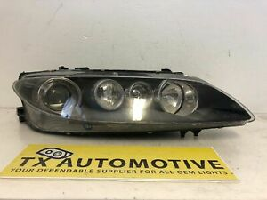 2006 2007 Mazda 6 Mazdaspeed Headlight Right Passenge Xenon Hid Oem Damaged J216