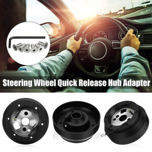 Steering Wheel Hub Adapter Quick Release Kit For Jeep Chevrolet Dodge Gm Buick