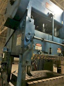 250 Ton Straight Side Double Crank Press ssdc Chicago D k Ss 250 42 72