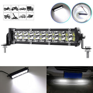 Led Work Light Bar 20w 12800lm Spot Light Car Driving Fog Lamp Suv Truck Offroad