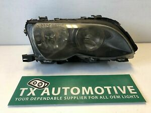 2002 2003 2004 2005 Bmw 3 Series Sedan Headlight Right Rh Passenger Oem L109