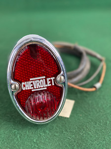 Nos 1933 1936 Chevrolet Lh Taillight Tail Light Housing Lens Assembly 916642