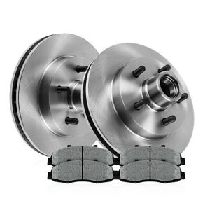 Front Brake Rotors And Metallic Pads For 2wd 2001 2005 Ford Explorer Sport