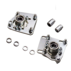 Front Camber Caster Plates Alignment Kit For Ford Mustang V6 V8 Gt 1994 2004