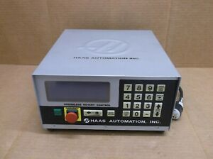 Haas Automation Cnc Brushless Servo Rotary Controller For 4th Axis Unit Box