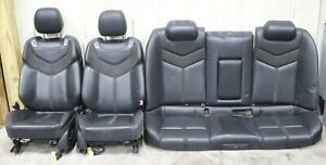 2014 2015 Chevy Ss Sedan Leather W Suede Seat Set Front Rear Used Oem Gm Lsx