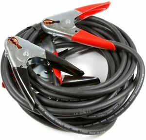 Forney 52878 Jumper Battery Cables Heavy Duty Booster 2 With 500 Amp Clamps