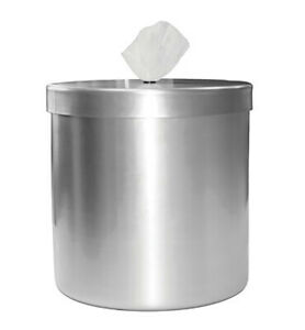 Stainless Steel Counter Top Sanitation Wipes Dispenser