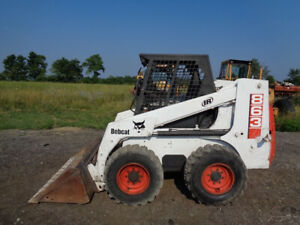 1995 Bobcat 863 Skid Steer Orops Sticks pedals deutz Diesel