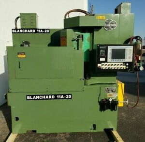20 Cnc Blanchard Model 11a 20 Rotary Surface Grinder Barely Used Original Paint