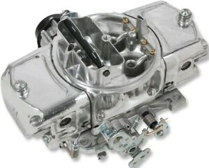 Holley 750cfm Aluminum Mighty Demon Carburetor Shiny Electric Choke Down Leg Gas
