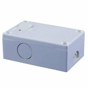 Jesco Lighting Sp b 2 wire Plastic Hardwire Box With Control Switch