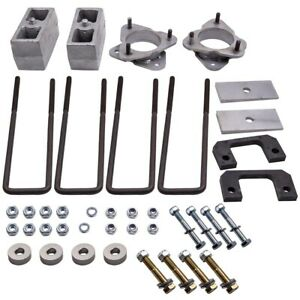 3 5 Front 3 Inch Rear Level Lift Kit For Chevy Silverado 1500 4wd 2012 6 Lug