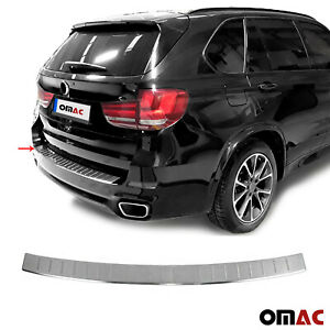 Rear Bumper Guard Trunk Sill Protector S Steel Brushed Fits Bmw X5 2014 2018
