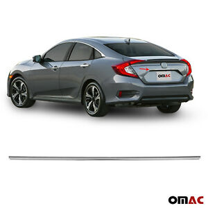 Chrome Trunk Tailgate Grab Handle Trim Cover Stainless For Honda Civic 2016 2020