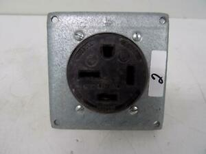 Hubbell 50amp Straight Blade Receptacle