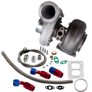 Gt45 T4 T66 Racing V Band Turbo Charger Oil Drain Feed Return Line Kits