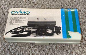 Vintage Dymo 1570 Deluxe Tapewriter Kit In Case Fantastic Condition