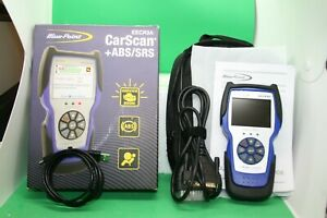 Blue point Eecr3a Car Scan Abs srs Auto Scan Tool With Box Manual